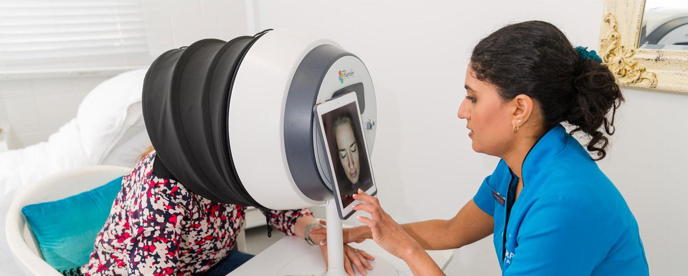 observ skin diagnostic bespoke skin consultation Samsara Medispa Milford North Shore
