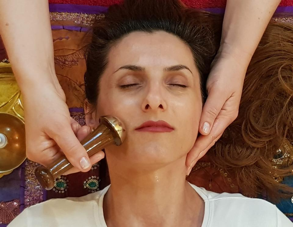 Ayurvedic Marma Point Facial Massage